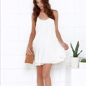 NEW! Boho Ivory Slip Dress